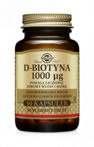 D-Biotyna 1000 μg