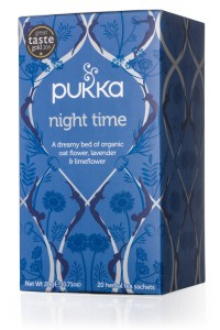 Herbata Night Time BIO - Pukka - 20 saszetek